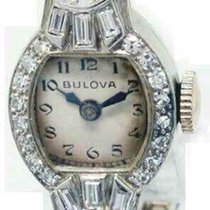Bulova Platinum 14mm Manual winding Diamond pre-owned United States of America, Florida, 33431