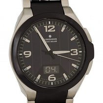 Junghans Spektrum Steel 43.5mm Black Arabic numerals