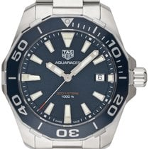 TAG Heuer WAY111C.BA0928 Steel 2019 Aquaracer 300M 41.00mm new