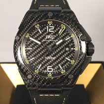 IWC Carbon Automatic Black Arabic numerals 46mm new Ingenieur Automatic