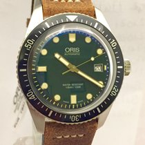 Oris Divers Sixty Five Green New 3 Years Warranty