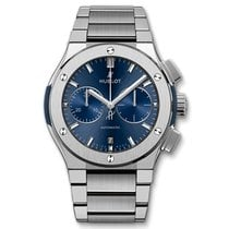 Hublot Classic Fusion Chronograph Titanium 45.00mm Blue United Kingdom, London