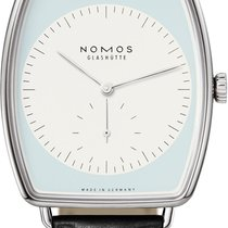 NOMOS Lux White gold 40.5mm White United States of America, New York, Airmont
