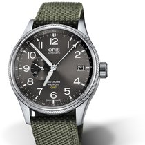 Oris Big Crown ProPilot GMT 01 748 7710 4063-07 5 22 14FC Oris SMALL SECOND GMT Tessuto nouveau