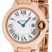 Cartier Ballon Bleu 28mm new Quartz Watch with original box W69002Z2