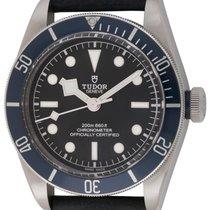 Tudor : Heritage Black Bay Blue  :  79230B-0001 :  Stainless...