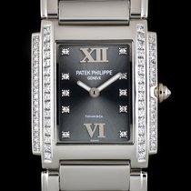 Patek Philippe Twenty-4 Tiffany & Co Dial White Gold 4910/20G-010