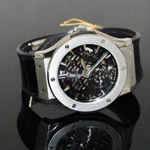 Hublot Classic Fusion Ultra-Thin pre-owned 45mmmm Transparent Crocodile skin