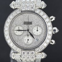 Chopard Imperiale White Gold 40MM Chronograph Full Diamonds...