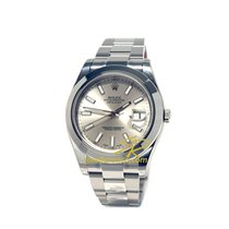 Rolex Datejust II Automatic Full Steel Silver Dial 41mm