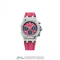 Audemars Piguet Royal Oak Offshore Lady Steel 37mm Pink No numerals