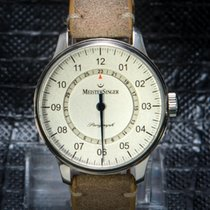 Meistersinger Perigraph 43 mm Retro Brown Leather Strap - Very...