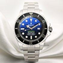 Rolex Sea-Dweller Deepsea Deep-Blue James Cameron Stainless...