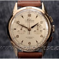 Lemania Red gold Manual winding Silver 37.8mm pre-owned