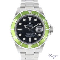 Rolex 16610 LV Steel 2008 Submariner Date 40mm pre-owned
