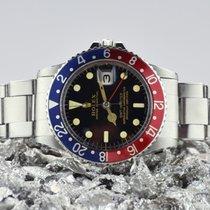 Rolex GMT-Master Staal 40mm Zwart Geen cijfers Nederland, Goor