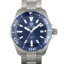 TAG Heuer WAY111C.BA0928 Steel Aquaracer 300M 41mm new