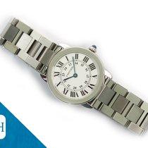 Cartier Ronde Solo de Cartier Steel 29mm White
