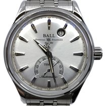 Ball Trainmaster pre-owned 39.5mm Silver Steel