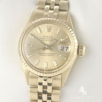 Rolex Oyster Perpetual Lady Date Yellow gold ca. 25mmmm