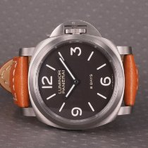 Panerai Luminor Base 8 Days Titan 44mm Brun Arabertal Danmark, Hellerup