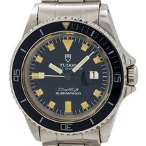 Tudor Prince Oysterdate Steel 33mm Black No numerals