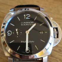 Panerai Luminor Marina 1950 3 Days Automatic PAM 00312 Sehr gut Stahl 44(52)mm Automatik