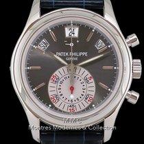 Patek Philippe Annual Calendar Chronograph Platino 40.5mm Gris Sin cifras