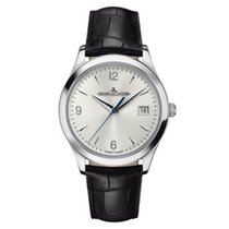 Jaeger-LeCoultre Master Control Date Steel 39mm Silver No numerals United States of America, New York, New York