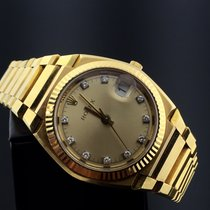 Rolex TEXANO LIMITED EDITION YELLOW GOLD & RARE DIAMONDS DIAL