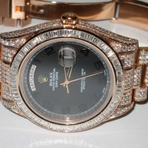 Rolex Day-Date II Rose gold 41mm Black Arabic numerals United States of America, New York, Wantagh