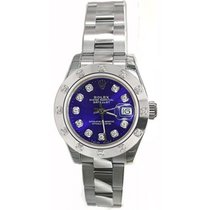 Rolex Datejust Lady's Steel Heavy Oyster Flip-Lock Clasp...