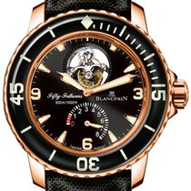 Blancpain Fifty Fathoms 5025-3630-52b Unworn Rose gold 45mm Automatic United States of America, New York, Airmont