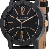 Bulgari Carbon Automatic Black 40mm new Bulgari