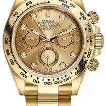 Rolex Daytona Yellow gold 40mm Champagne