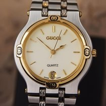 Gucci 9000M Swiss Made Stainless Steel Men's Luxury Quartz...