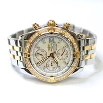 Breitling Chronomat Evulution 44mm Stainless Steel and 18K...