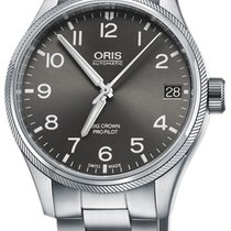 Oris Big Crown ProPilot Date Steel 41mm Grey United States of America, New York, Airmont