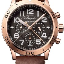 Breguet Rose gold Type XX - XXI - XXII 42mm new United States of America, New York, Airmont