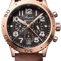 Breguet Type XX - XXI - XXII Rose gold 42mm Grey United States of America, New York, Airmont