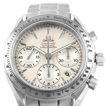 Omega Speedmaster Date pre-owned 40mm Silver Date Steel
