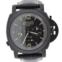 Panerai Luminor 1950 8 Days Chrono Monopulsante GMT Ceramic 44mm Black Arabic numerals United States of America, New York, New York