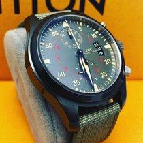 IWC Pilot Chronograph Top Gun Miramar Ceramic 46mm Arabic numerals