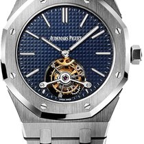 Audemars Piguet Royal Oak Tourbillon Steel Blue United States of America, New York, Brooklyn
