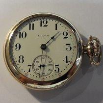 Elgin 18s Pocket Watch Gold Filled