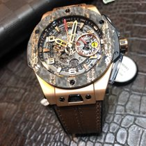 Hublot Big Bang Ferrari 401.OJ.0123.VR New Rose gold 45mm Automatic