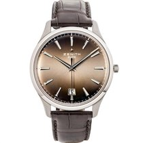 Zenith Captain Central Second Zeljezo 40mm Siv