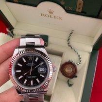 28ed5d9b4d1e Rolex Datejust II 41mm Steel Black Dial