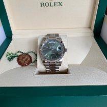 Rolex Day-Date 40 Hvidguld 40mm Romertal Danmark, Copenhagen N