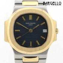 Patek Philippe 3800 Ouro/Aço Nautilus 37mm